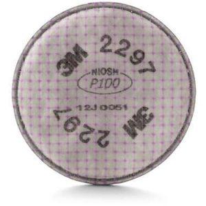 Filtro 2297 3M para partículas avanzado P100 niveles molestos Vapores Orgánicos