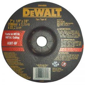 Disco de Corte 7″ x 1/8 Dewalt