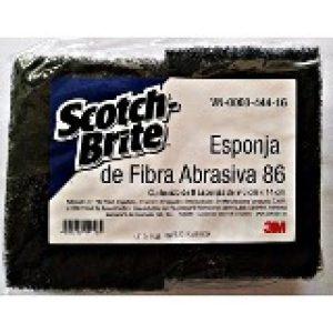 Esponja de fibra abrasiva Scotch Brite 86 3M