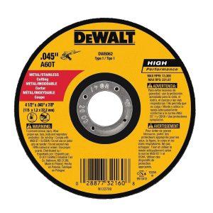 Disco de corte ultrafino 4 1/2″ Dewalt