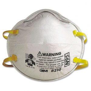 Respirador para partículas 8210 3M N95