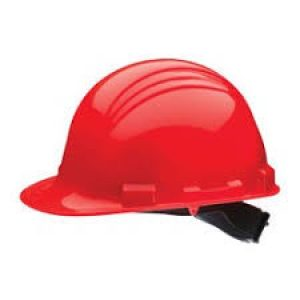 Casco de polietileno North A59 Rojo
