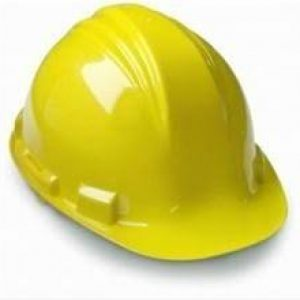 Casco de polietileno North A59 Amarillo